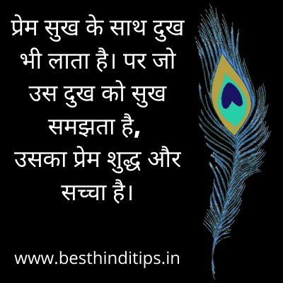 Quote of krishna for love